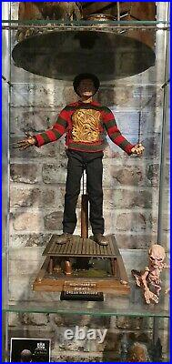1/6 Scale Nightmare On Elm Street Freddy Krueger Set With Sideshow Parts And