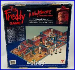 1989 A Nightmare on Elm Street Freddy Game by Cardinal New Old Stock FREE SHIP