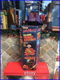 1989 Matchbox A Nightmare on Elm Street Talking Freddy Krueger Doll Poseable