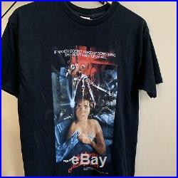 2001 Vintage Freddy Krueger Nightmare On Elm Street Shirt Size XL Horror Movie