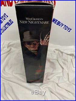 2004 Freddy Krueger EXCLUSIVE Sideshow Rare 12 New Nightmare Figure Elm Street