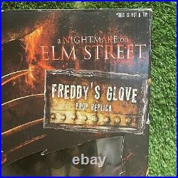 2010 Neca Nightmare On Elm Street Freddy Krueger Glove Prop Replica Original