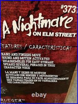 2021 Gemmy Halloween A Nightmare on Elm Street LIFE-SIZE Animated FREDDY KRUEGER
