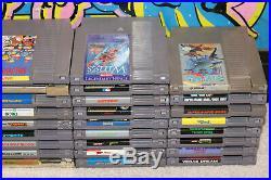 34 NES Games / Mario / Nightmare On Elm Street / Zelda / SuperC / Metroid / TMNT