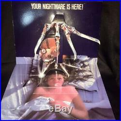 A NIGHTMARE ON ELM STREET 1984 Media 3D Horror Standee Display FREDDY KRUEGER