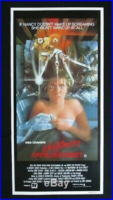 A NIGHTMARE ON ELM STREET 1984 Original Australian daybill movie poster horror