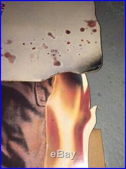 A NIGHTMARE ON ELM STREET 2 Large 1985 Horror Movie Standee Rare FREDDY KRUEGER