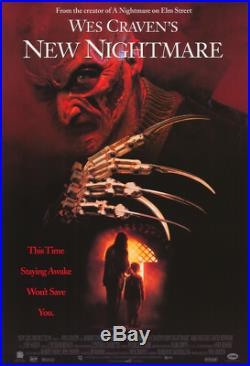 A NIGHTMARE ON ELM STREET 7 Wes Craven's New Nightmare / 1993 CALL SHEET