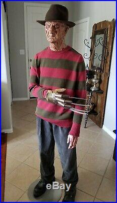A NightMare on Elm Street 11 life size Freddy Krueger Replica Prop Statue Bust