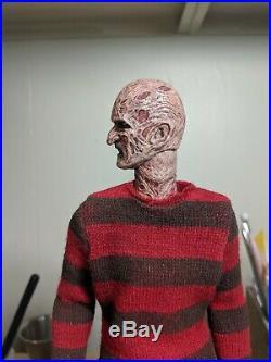 A Nightmare On Elm Street 1/6 Freddy Headsculpt set For Sideshow