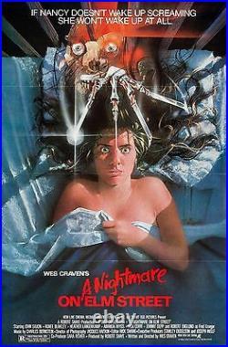 A Nightmare On Elm Street (1984) Original Movie Poster Tri-folded