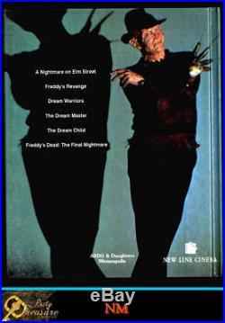 A Nightmare On Elm Street + #3, #5 (1992) 3 Oop Hardbacks Nm Gift Quality