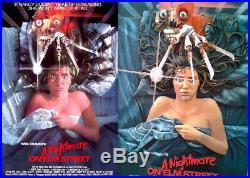 A Nightmare On Elm Street 3D Poster Freddy Krueger McFarlane Toys figure statue