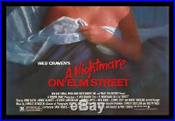 A Nightmare On Elm Street'84 1-sh Movie Poster Archival Museum Linen-mounted