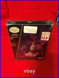 A Nightmare On Elm Street 95% Sealed in Box MINT Factory Nintendo NES