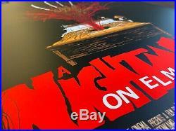 A Nightmare On Elm Street Alex Pardee Art Movie Poster Print 18x24