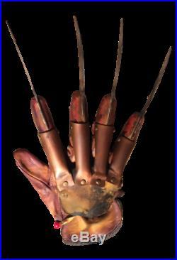 A Nightmare On Elm Street Deluxe Freddy Krueger Glove
