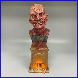 A Nightmare On Elm Street Freddy Krueger Painted Display Bust Figure Resin