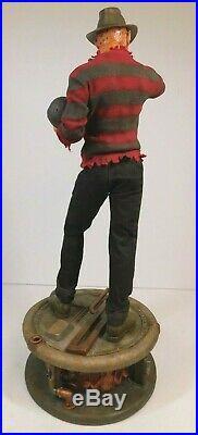 A Nightmare On Elm Street Freddy Krueger Premium Format Staue 14 Scale