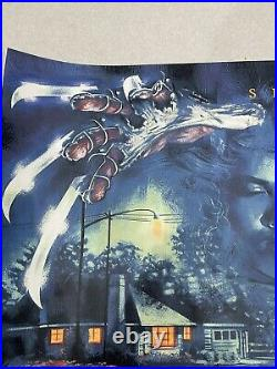 A Nightmare On Elm Street Graham Humphreys quad ltd 100 signed rare (mondo int)