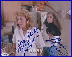 A Nightmare On Elm Street Heather Langenkamp & Blakley Signed 8x10 Photo Psa/dna