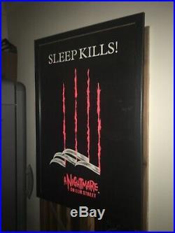 A Nightmare On Elm Street Horror Movie Poster (Original 1984) Rare