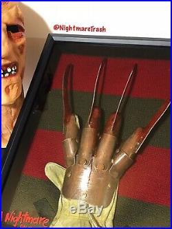 A Nightmare On Elm Street Metal Freddy Krueger Glove Sweater Horror Movie Prop