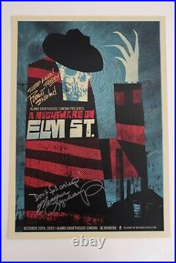 A Nightmare On Elm Street Methane Studios Mondo Poster Ltd Edition Screen Print
