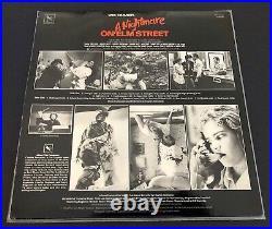 A Nightmare On Elm Street Soundtrack / Varese Sarabande 1984 Horror Lp Nm