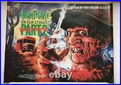 A Nightmare on Elm Street 2 Freddy's Revenge original UK quad poster