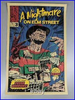A Nightmare on Elm Street 3 Dream Warriors Movie Poster Jonny Dombrowski mondo