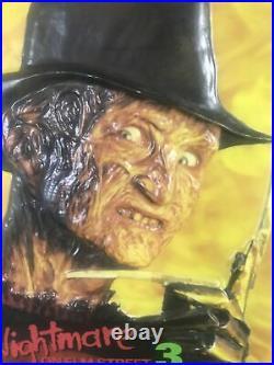 A Nightmare on Elm Street 3 Dream Warriors Video Store Light Box Panel RARE