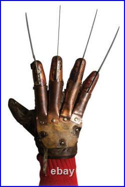 A Nightmare on Elm Street 4 The Dream Master Deluxe Freddy Krueger Glove New