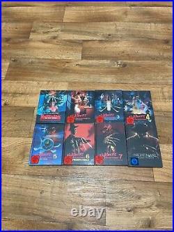 A Nightmare on Elm Street Box Mediabook komplett Neu/OVP UNCUT Blu-ray