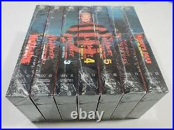 A Nightmare on Elm Street Collection VHS (1999) 7-Tape Set NEW ALL SEALED