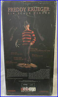 A Nightmare on Elm Street Freddy Krueger 1/4 Scale Premium Format Statue