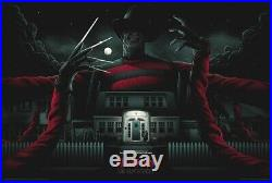 A Nightmare on Elm Street Freddy Krueger Print Matt Ryan Tobin Mondo