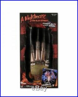 A Nightmare on Elm Street Gant Métal FREDDY KRUEGER Griffes de la Nuit 3 397633