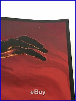 A Nightmare on Elm Street Mike Saputo Mondo Poster Print Movie Freddy Kruger Art