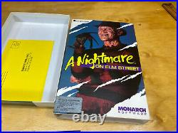 A Nightmare on Elm Street Monarch Computer Game Freddy RARE IBM Tandy DOS