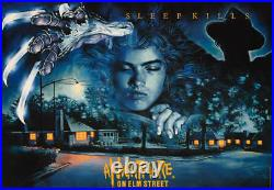 A Nightmare on Elm Street Rare Screen Printed UK Quad Poster No. /100 NT/Mondo