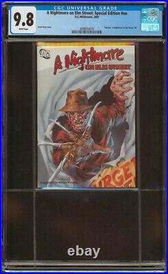 A Nightmare on Elm Street Special Edition #nn CGC 9.8 NM/MT 2007 DC/Wildstorm