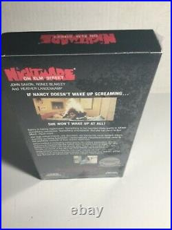 A Nightmare on Elm Street VHS Tape 1990 BRAND NEW FACTORY SEALED VINTAGE HORROR