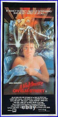 A Nightmare on Elm Street original daybill movie poster