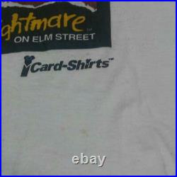 A nightmare on Elm Street T-Shirt Made in USA Color White Size L