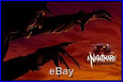 A nightmare on Elm street by Mike Saputo- Very rare sold out Mondo print