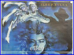 A nightmare on elm street (1984) uk one sheet quad cinema film poster Wes Craven