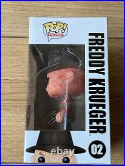 Boxed Funko Pop! #02 Nightmare on Elm Street Freddy Krueger Glow Chase