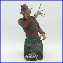 Busto Nightmare on elm street Freddy Krueger Busto gentle giant raro