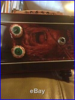 Electric guitar tin lunch box guitar a nightmare on elm street